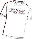 White T GET DIESEL Classic